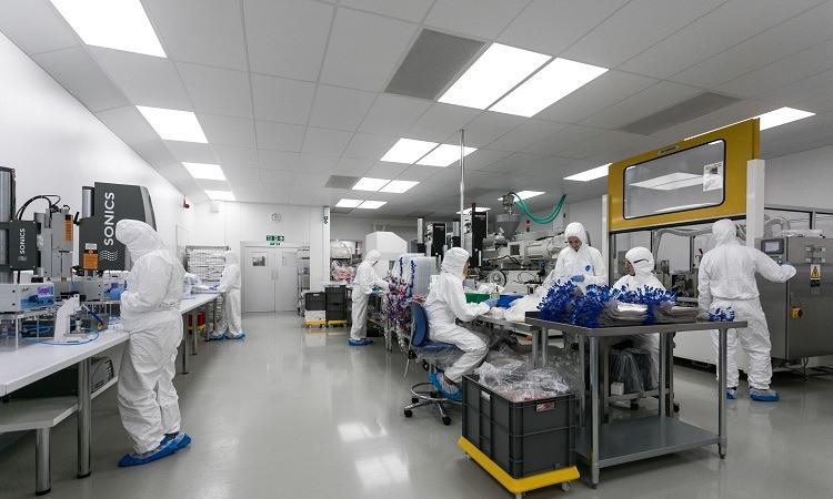 Europlaz assembly line