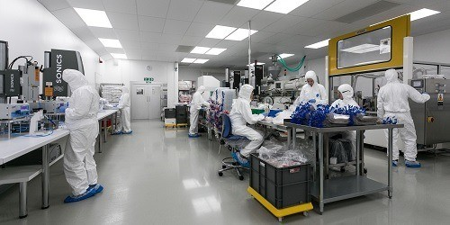 mass production for medical devices